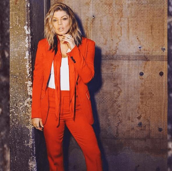 Fergie-Orange-Jumpsuit-Talent-Recap-The-Four-2