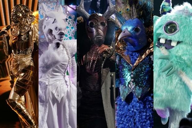 Masked Singer UK Costumes