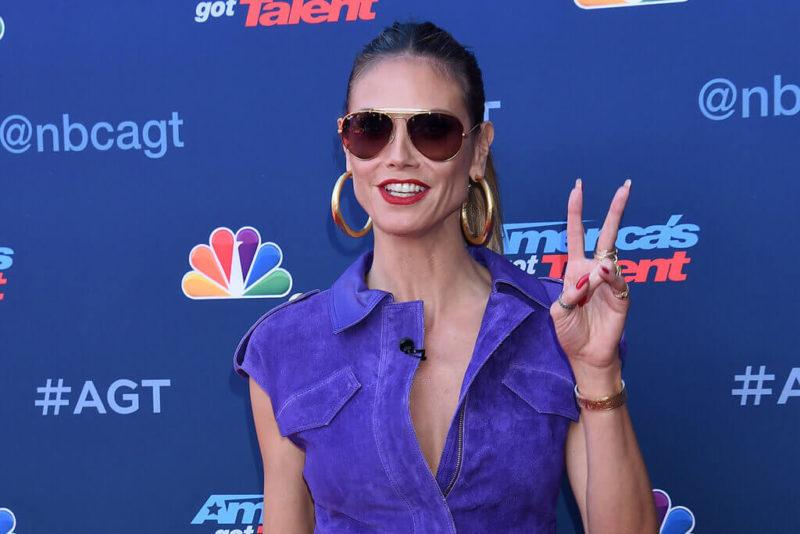 Heidi Klum AGT Champions