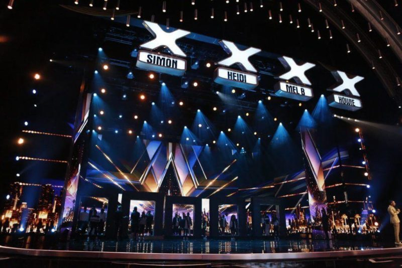 America's Got Talent stage