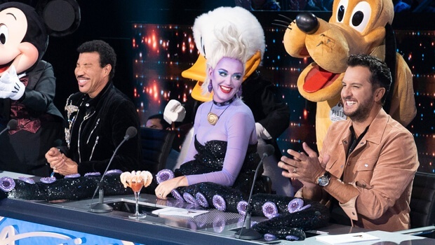 American Idol Disney night judges
