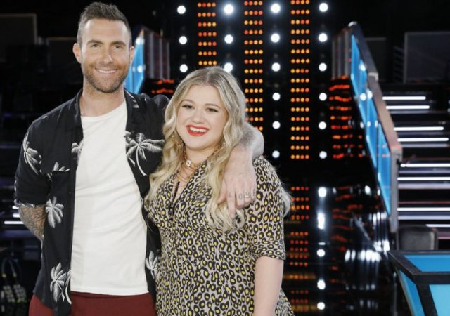 Kelly Clarkson Adam Levine The Voice