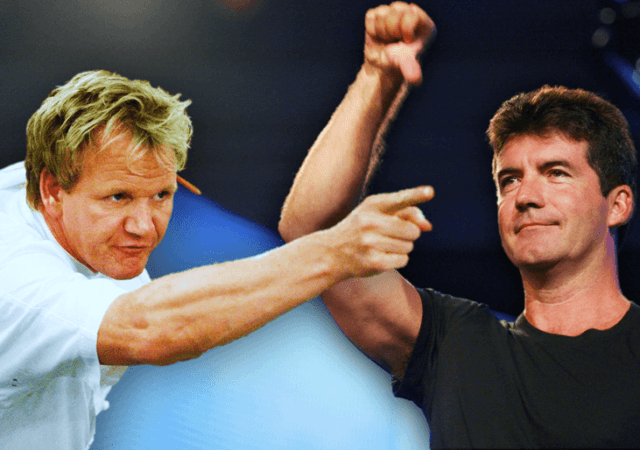 Gordon Ramsey and Simon Cowell Best Insults