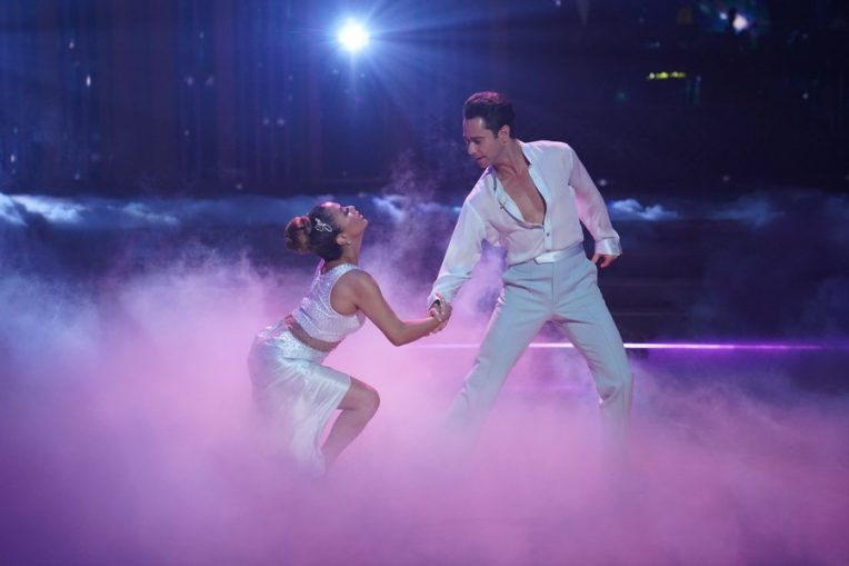 'DWTS' Fans Argue Ally Brooke and Len Goodman's Cringe-worthy High Five Controversy