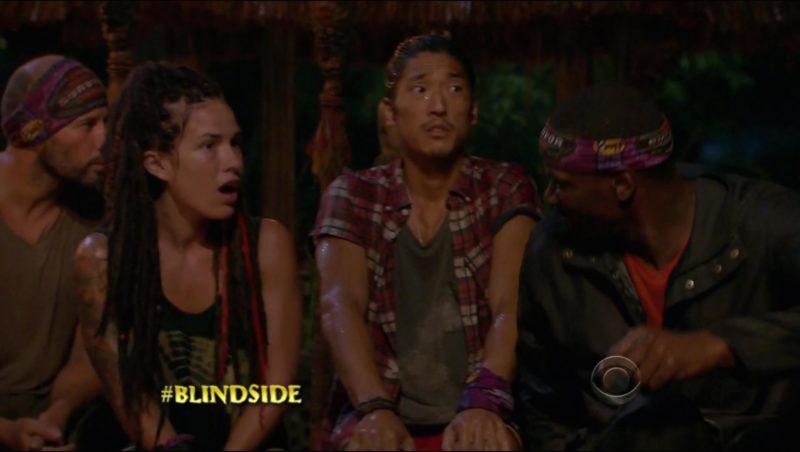 survivor blindsides