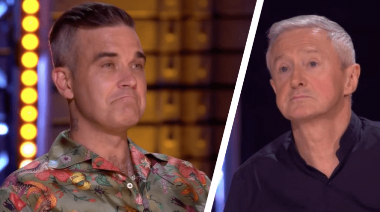 'X Factor' RIVALRY! Robbie Williams Hits Back At Louis Walsh's Harsh Words