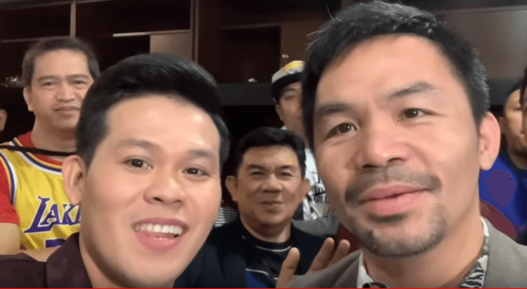 'AGT Champions' Marcelito Pomoy Teaches Boxing Legend Manny Pacquiao How To Sing [VIDEO]