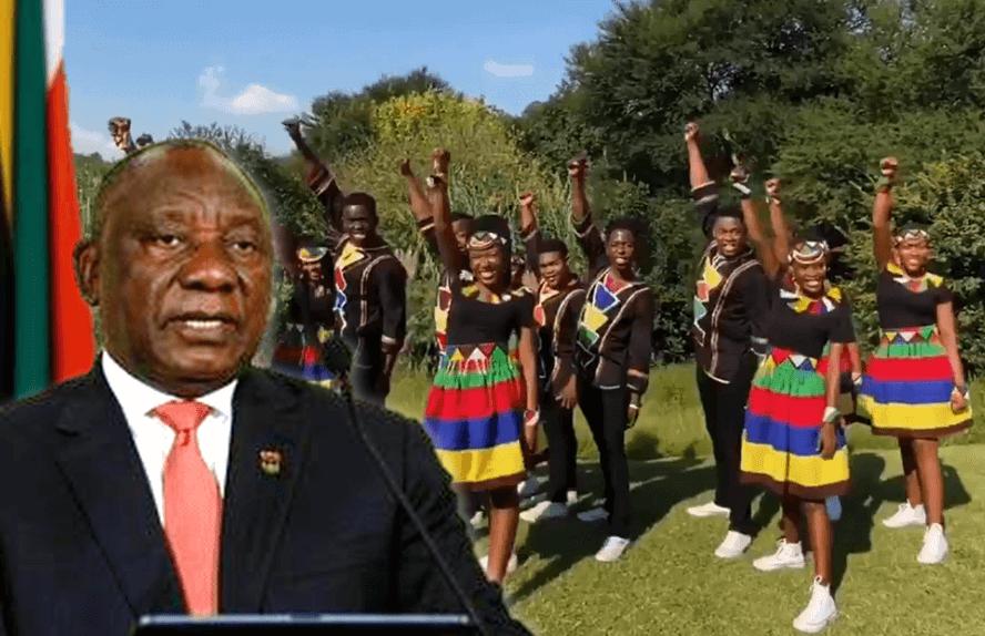 'AGT' Choir Make Cool Coronavirus Warning Video With South African President