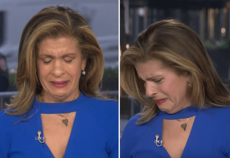 HEARTBREAKING: We Are All Hoda Kotb Today! America's Emotion Captured On This LIVE TV Moment