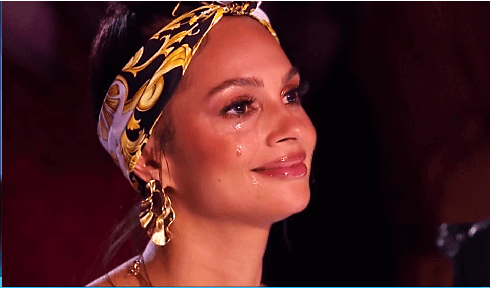 britain's got talent bgt alesha dixon crying tears