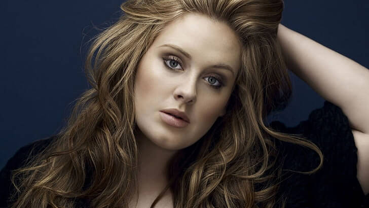 adele hair shaved off