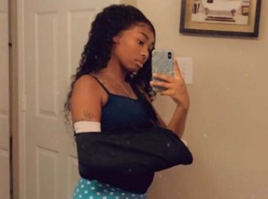 Lapattra Lashai, The Girl Floyd Mayweather's Daughter Stabbed Is Still In Pain And Having A 'Rough Time'