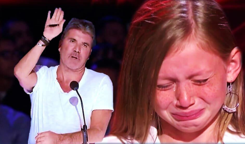 simon cowell stops audition agt
