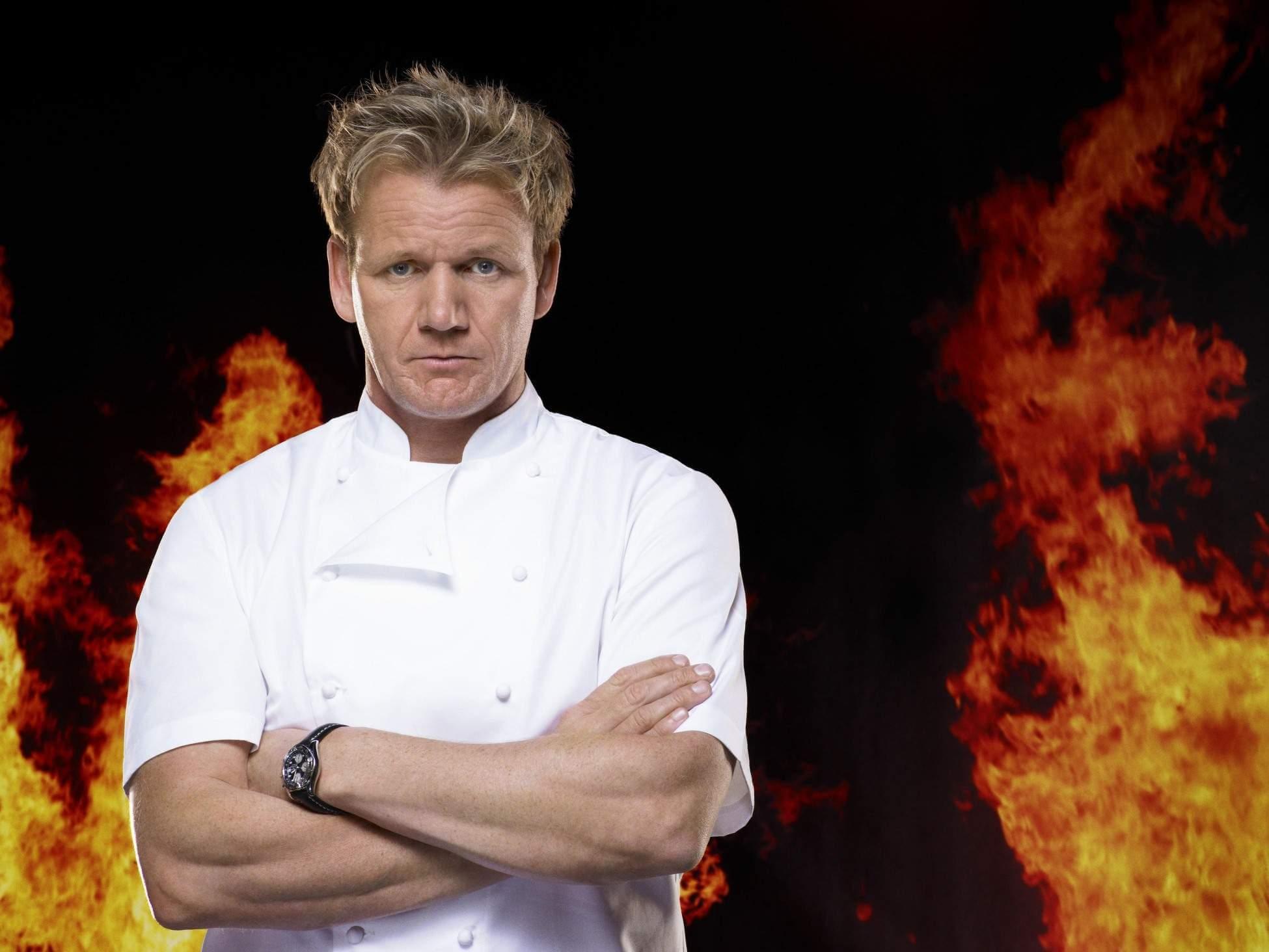 Gordon Ramsay Hell's Kitchen MasterChef Kitchen Nightmares