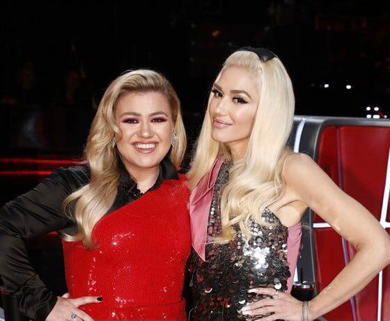 Kelly-Clarkson-Gwen-Stefani-Blake-Shelton-Brandon-Blackstock-The-Voice
