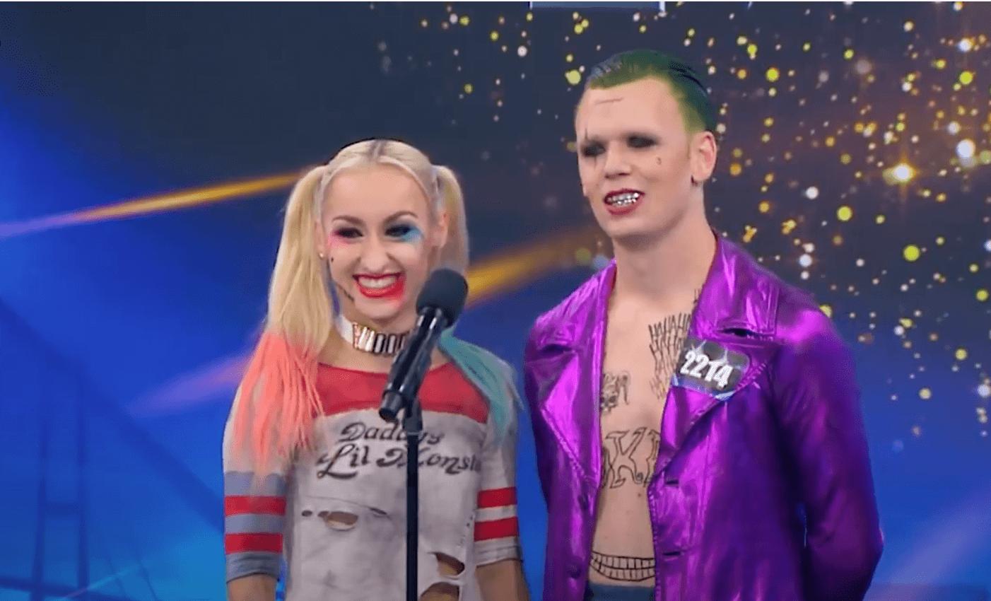 Denmarks-Got-Talent-The-Joker-Harley-Quinn-Nikolaj-Lund-Marta-Kocik