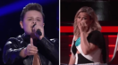 Watch Kelly Clarkson Completely Break Down During Carter Rubin's Performance On 'The Voice'
