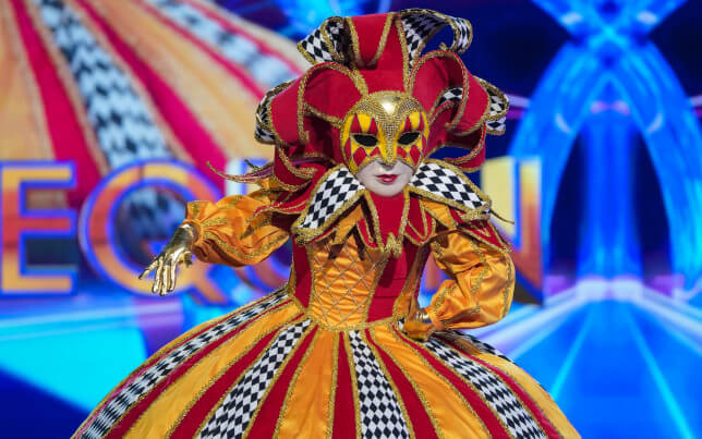Harlequin on 'The Masked Singer' UK