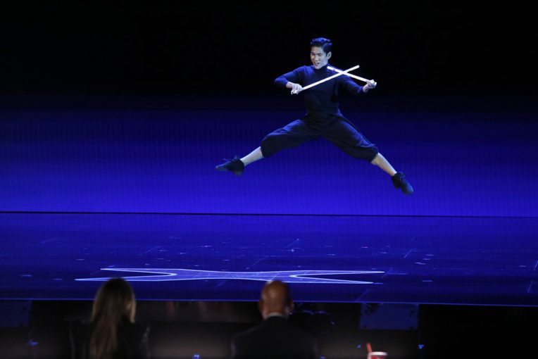 Filipino Circus Performer Ehrlich Brings Unique Leviwand Act to 'America's Got Talent'