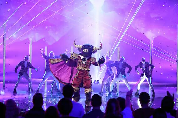 The Masked Singer Bull