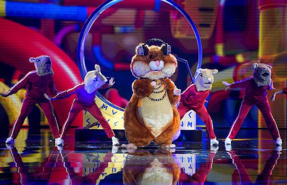 The Masked Singer Hamster
