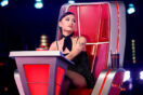 Ariana Grande Blocks John Legend From Four-Chair Turn Holly Forbes